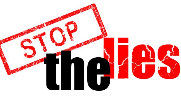 Αποτέλεσμα εικόνας για stop lies